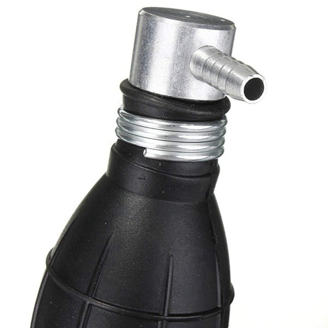 12mm Transfert en Caoutchouc Noir Carburant Vide Ligne de Carburant Primaire Main Type dampoule Pompe pour Bateaux Tracteurs /& amp; amp; Moteur de Voitures 6//8//10