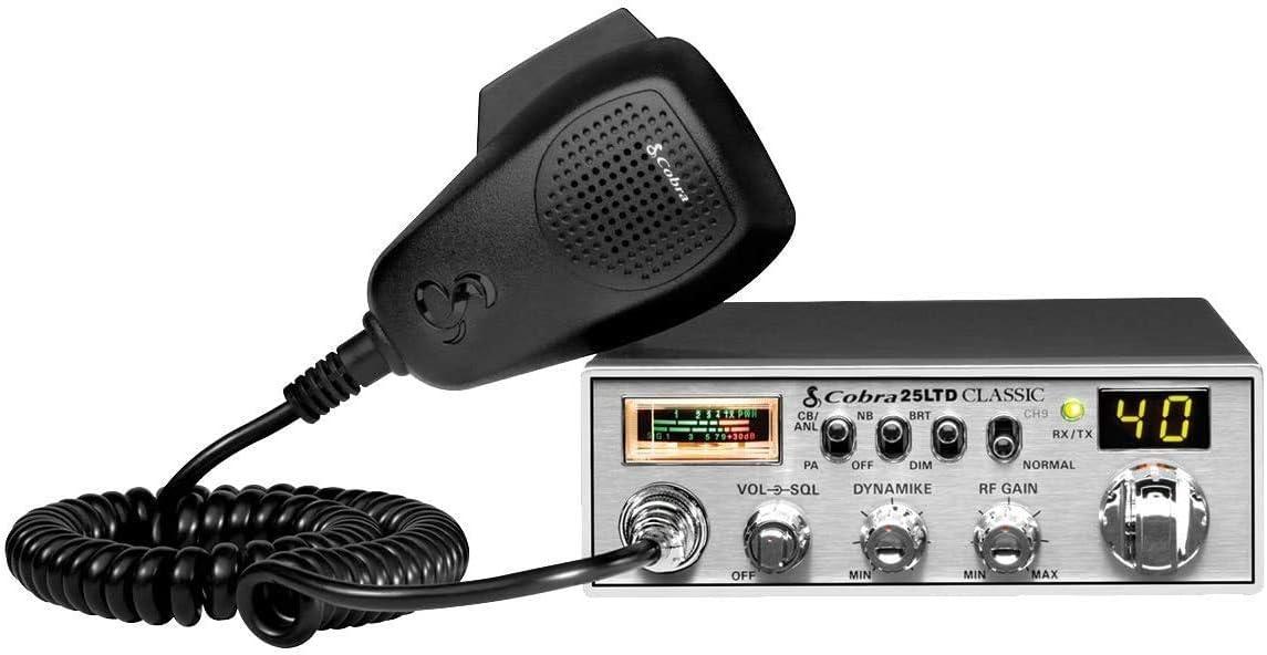 amazon.com: cobra 25ltd professional cb radio - emergency radio ...  amazon.com