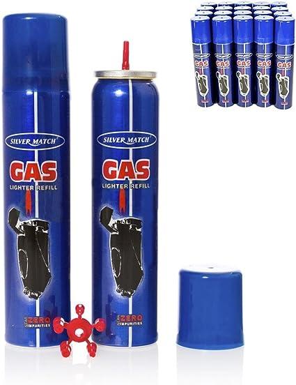 RECARGA DE GAS PARA MECHEROS 90ML: Amazon.es: Iluminación