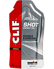 Clif Shot Energy Gel Double Expresso 100mg Caffeine - Box of 24 -