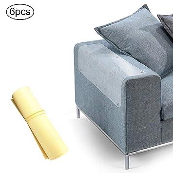 Protector de muebles para gatos y gatos, flexible, transparente, protector contra arañazos,
