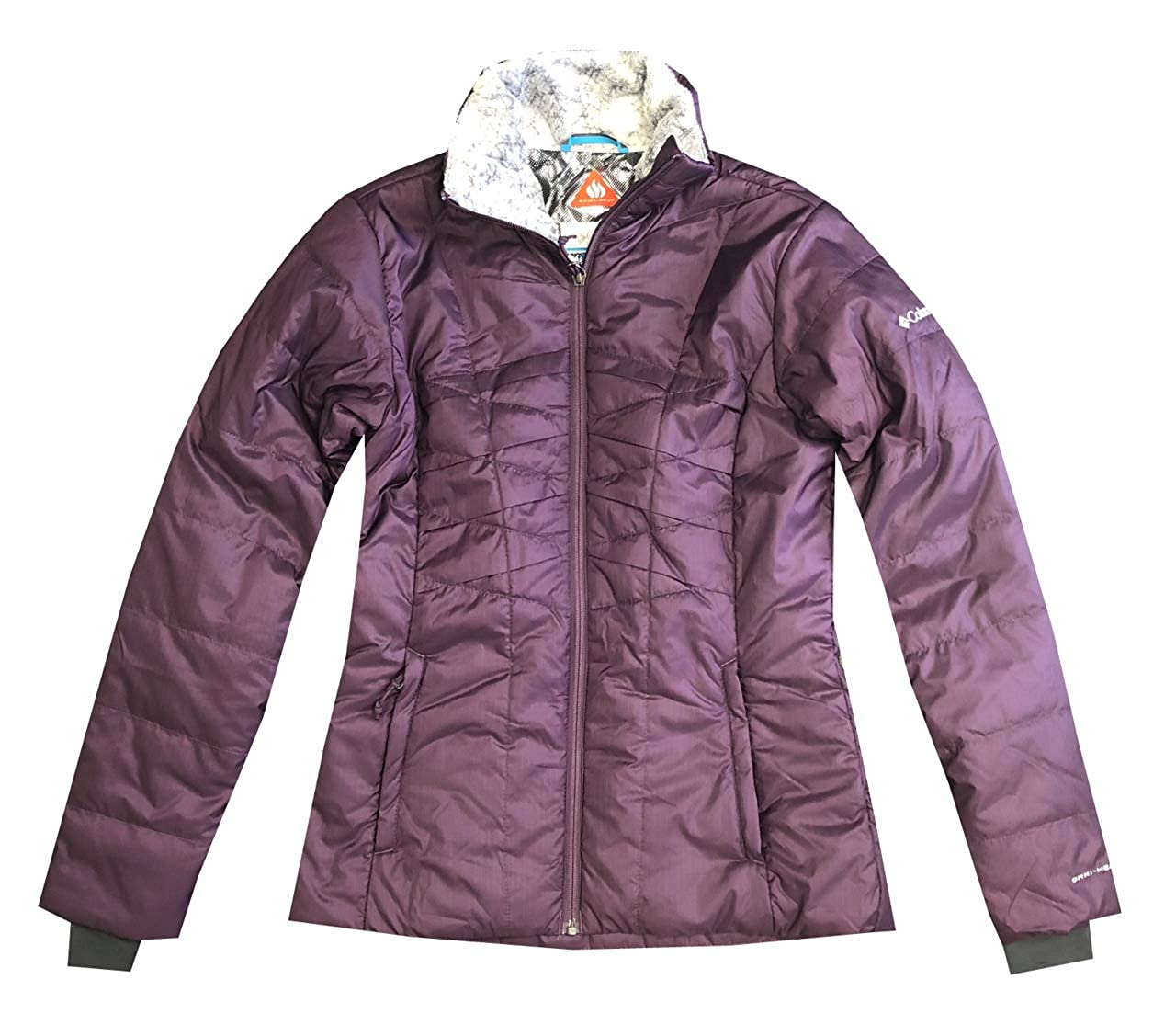 Columbia Womens Frostfecta Omni-Heat Thermal Insulated Jacket (XS, Dark Purple)