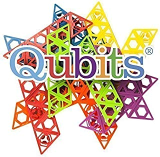 product image for Qubits Construction Toy Beach/Travel Toy, Rainbow Assorted Toy