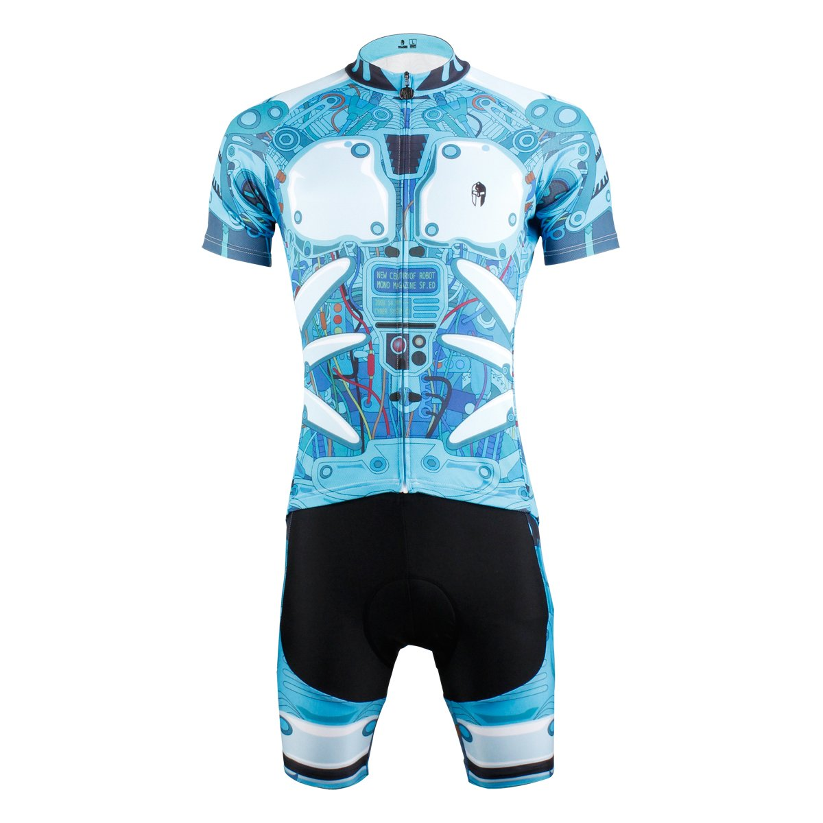 [paladin] サイクルジャージ 上下セット 吸汗速乾 通気がいい 夏用 スポーツ アウトドア サイズ選択可 X-Large  B01ET1OP2Y
