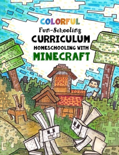 Full Color - Fun-Schooling Curriculum - Homeschooling with Minecraft: By the Makers of Dyslexia Games - Farm & Animals Themed Beginners Journal