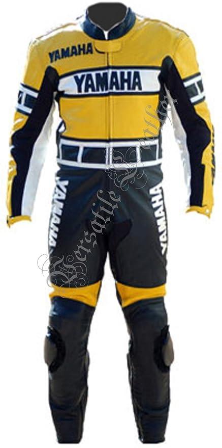 Amazon.es: Yamaha Amarillo y Negro, 2 traje chaqueta de piel ...
