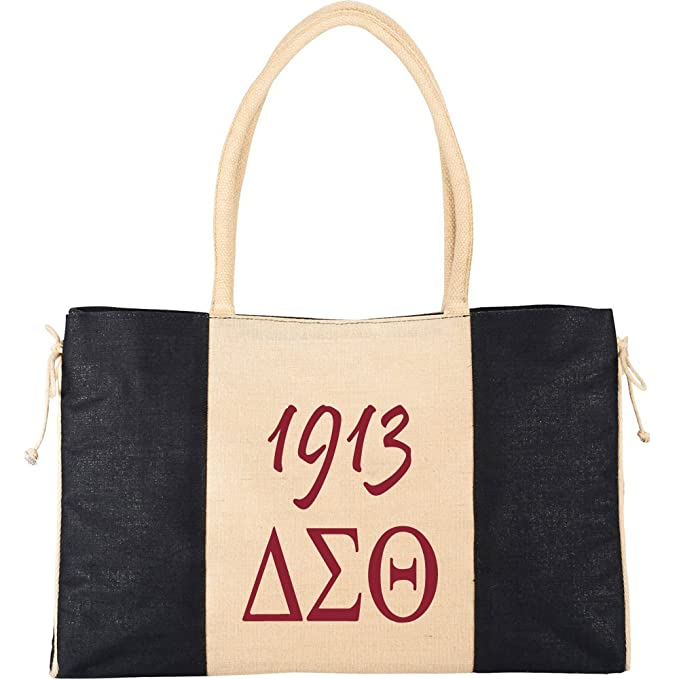 b8bdc6a94 Amazon.com: Delta Sigma Theta Sorority Tote Bag: Clothing