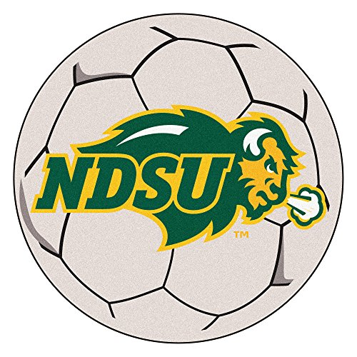 Dakota Soccer Ball Rug - NCAA North Dakota State University Bison (