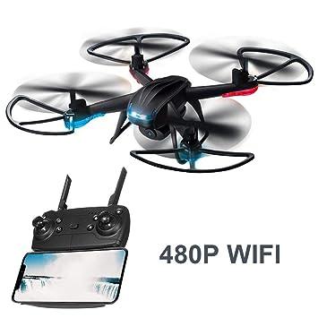 awhao-123 Global Drone 007-3 Mini Drone con cámara HD, batería de ...