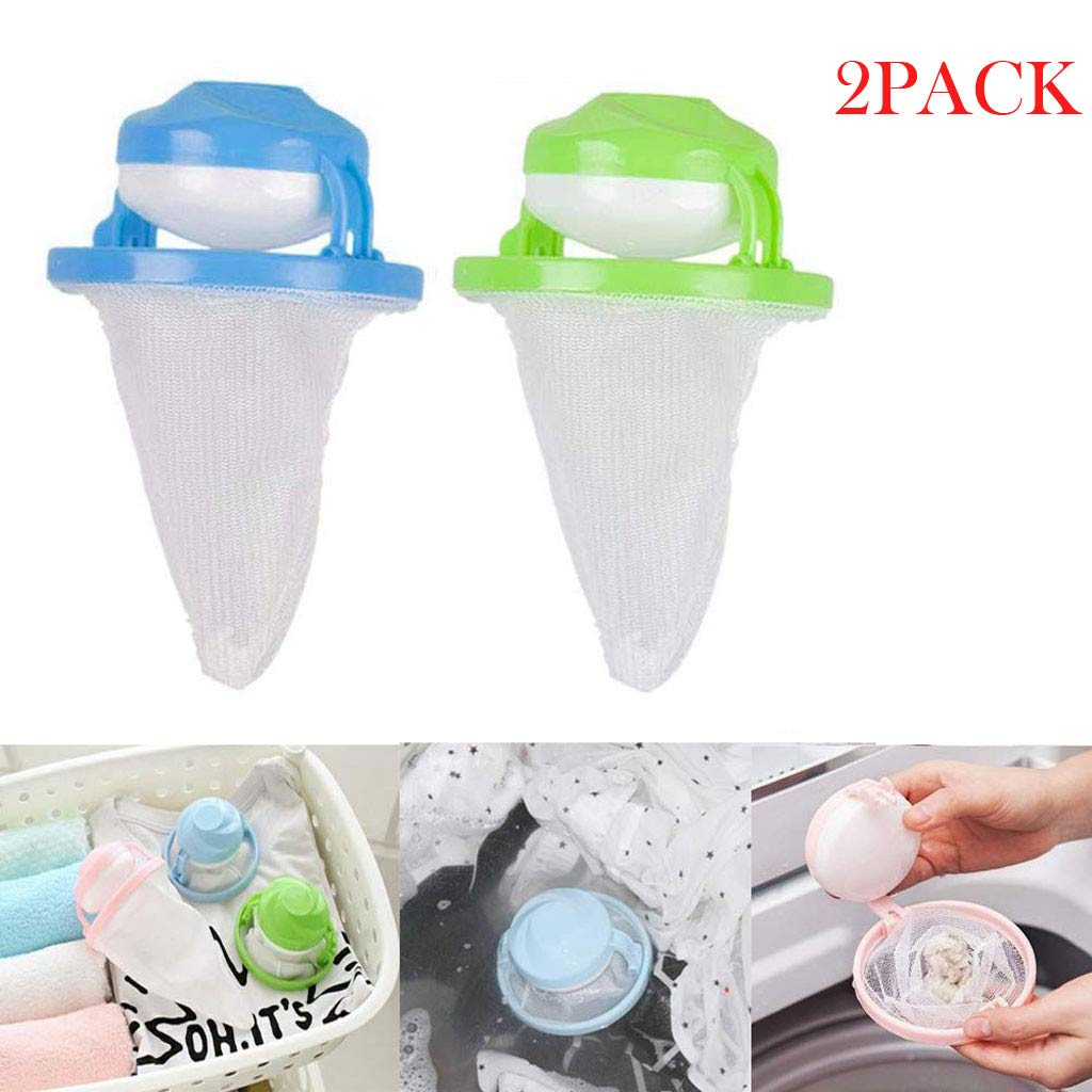 Filter BagsCelendi Home Floating Lint Hair Catcher Mesh Pouch Washing Machine Laundry Filter Bag