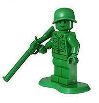 Amazon.com: Lego Army Man (Infantry)- Toy Store Minifigure: Toys & Games