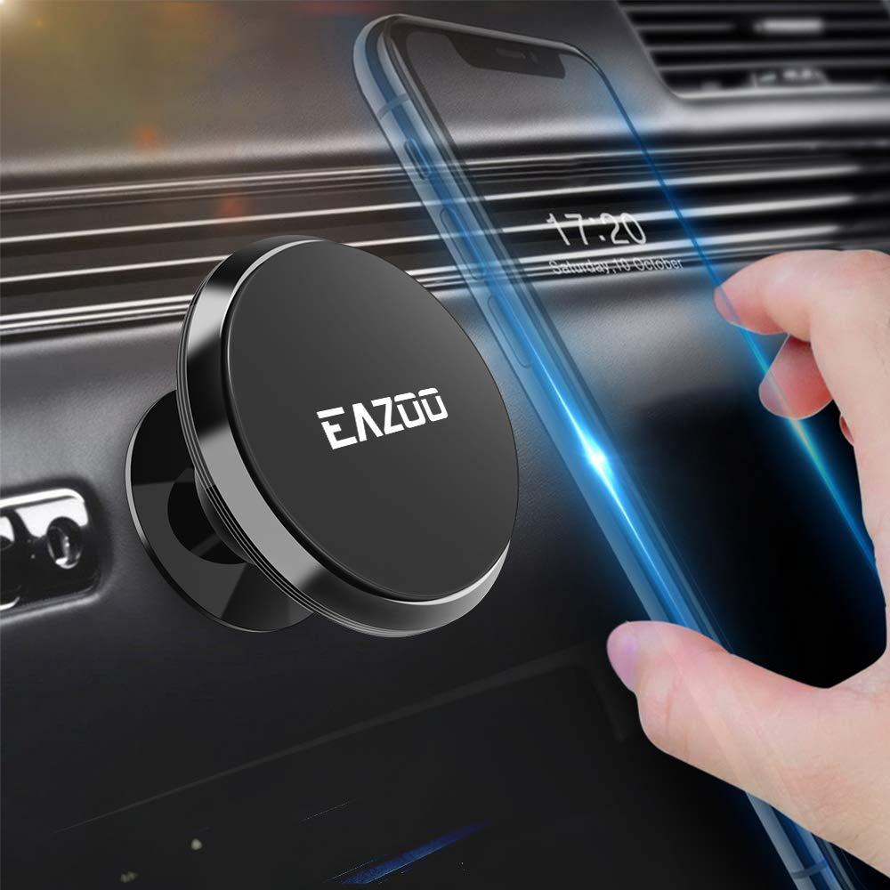 Black Magnetic Phone Car Mounts Squish Magnetic Car Phone Mount Phone Holder for Car