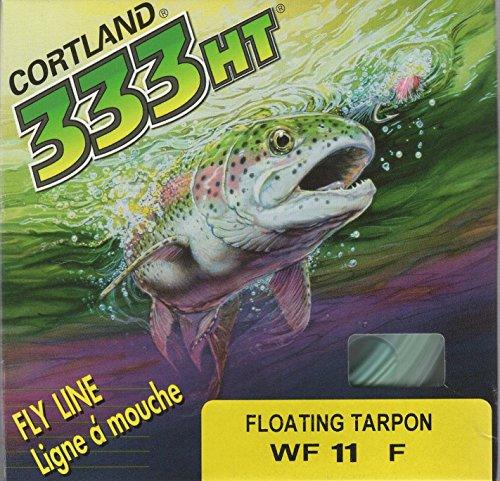 Cortland X Floating Tarpon WF11 Seafoam 100' Fly Line - Cortland Foam