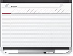 Quartet Prestige 2 Magnetic Total Erase Project Planner, 4 x 3 Feet Board with 28 Row/42 Column Chart (PP43P2)