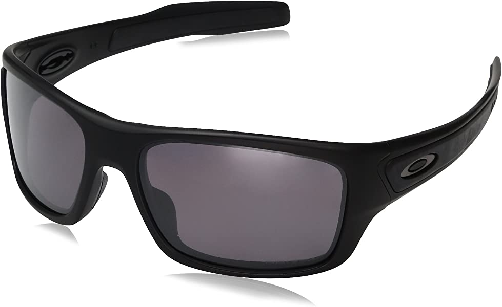 80f087bddcec Amazon.com: Oakley Boys' Turbine Xs Polarized Rectangular Sunglasses ...