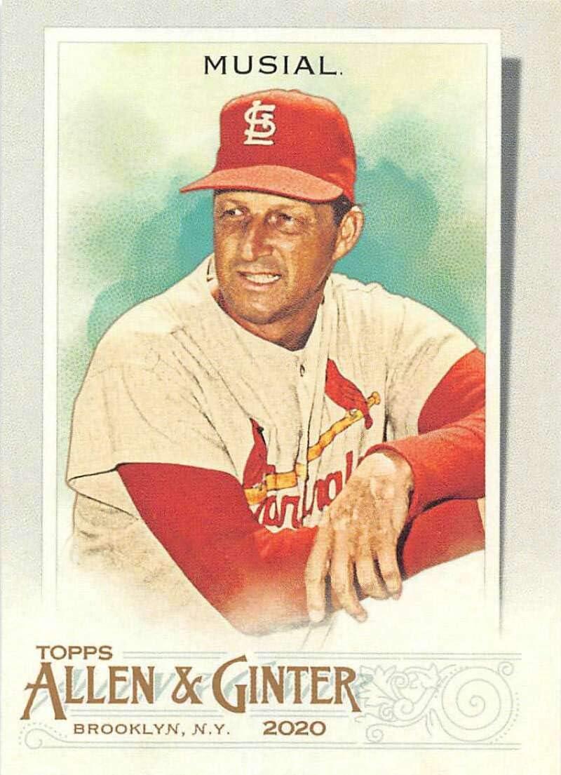 2020 Allen and Ginter #131 Stan Musial NM-MT St Louis Cardinals Baseball