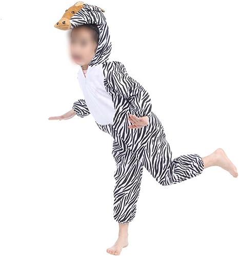 Disfraz de cebra para niños, disfraz de animal, para Halloween ...