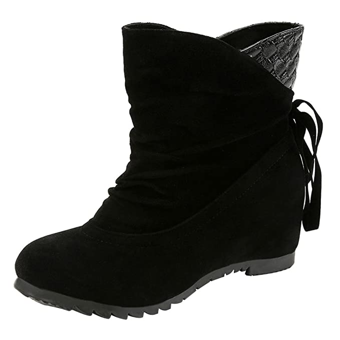 8b38a6fe251 DENER Women Ladies Girls Ankle Boots with Heels