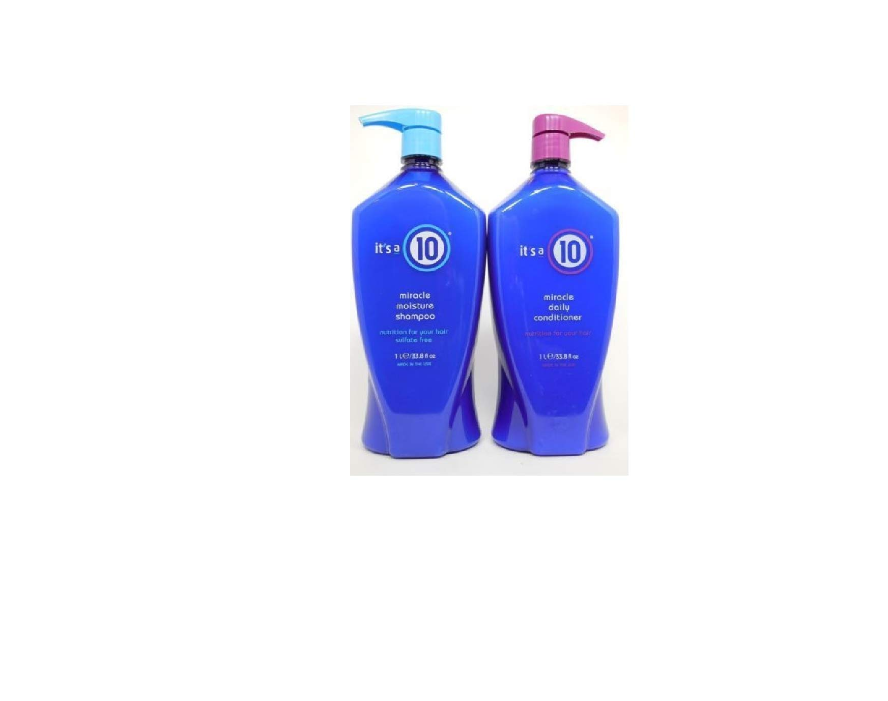 It's a 10 Miracle Shampoo & Conditioner Large Combo Set, 33.8 oz by It's a 10