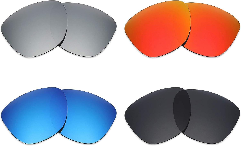MRY 4 pares polarizadas lentes de repuesto para Oakley Frogskins ...