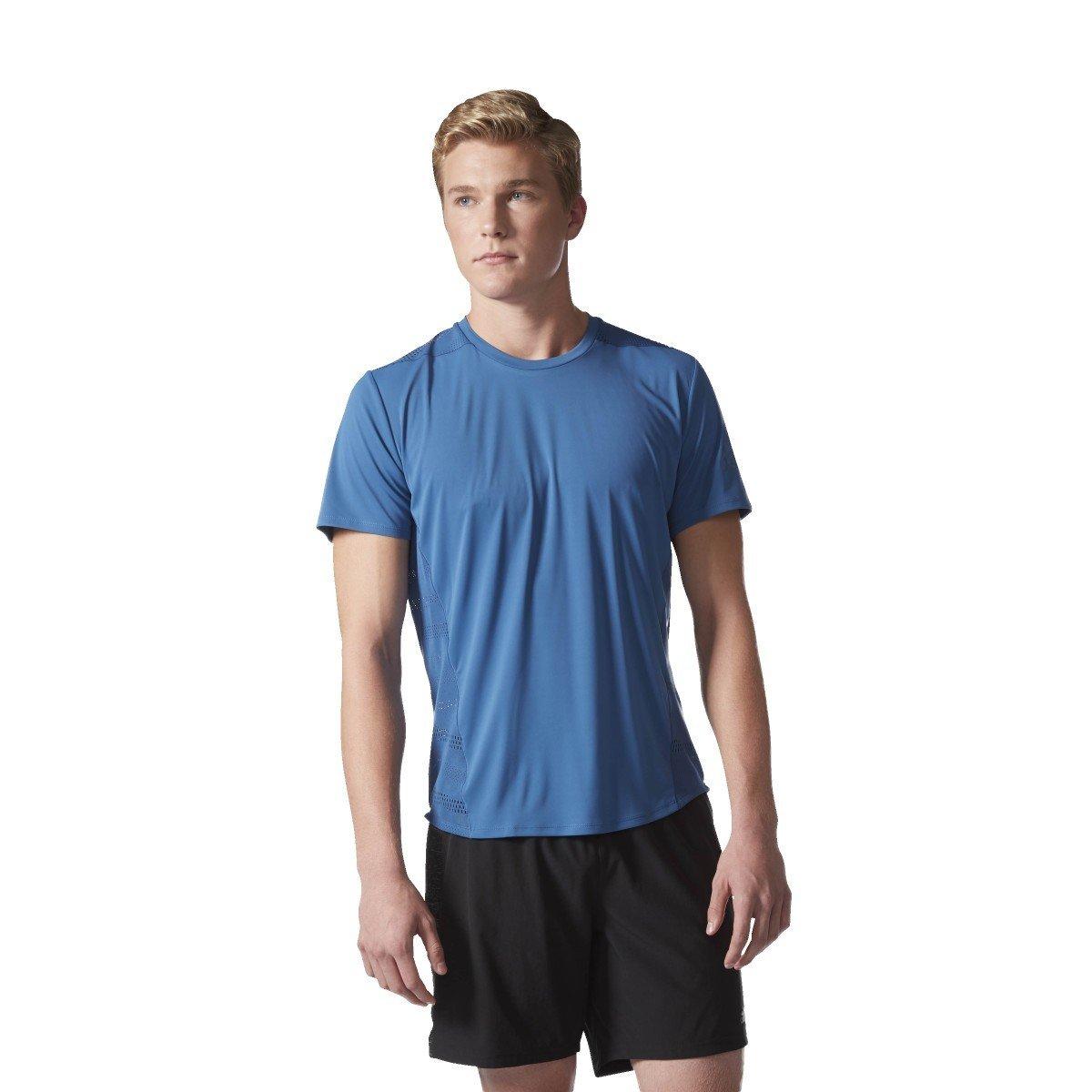 Bleu XS adidas TKO SS M – T-Shirt à Manches Courtes