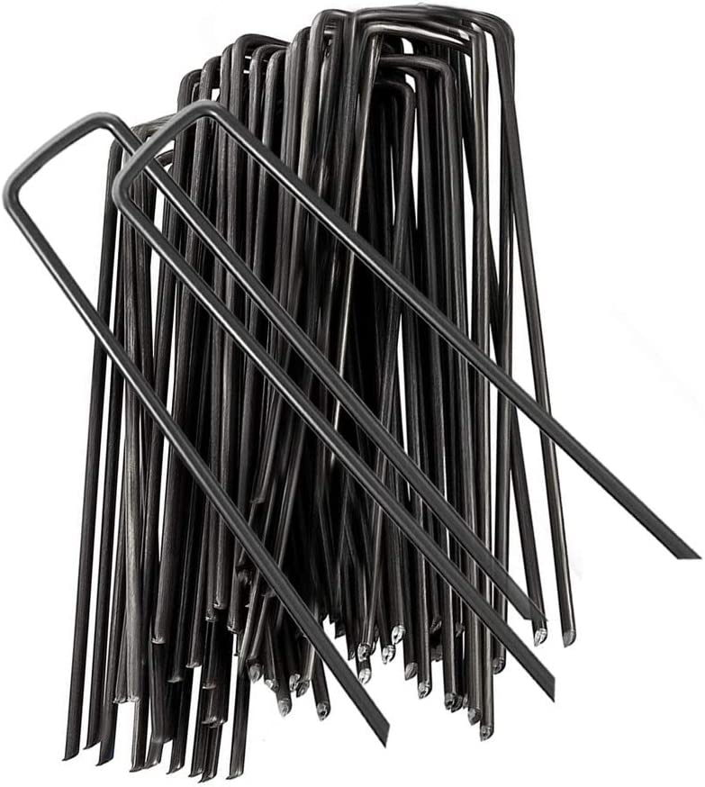 Stabile Bodenanker Erdn/ägel f/ür Unkrautvlies Zaun /& Camping Gartenvlies normani 50 oder 100 Zeltheringe Erdanker 220 MM lang aus verzinktem geh/ärtetem Stahl