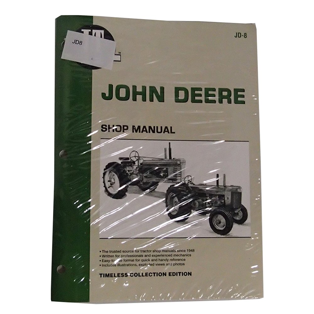 JD8 New Tractor Shop Manual Made for John Deere Tractor 70 ... John Deere Model Wiring Diagram on farmall super mta wiring diagram, john deere 50 wiring diagram, john deere model 70 engine,