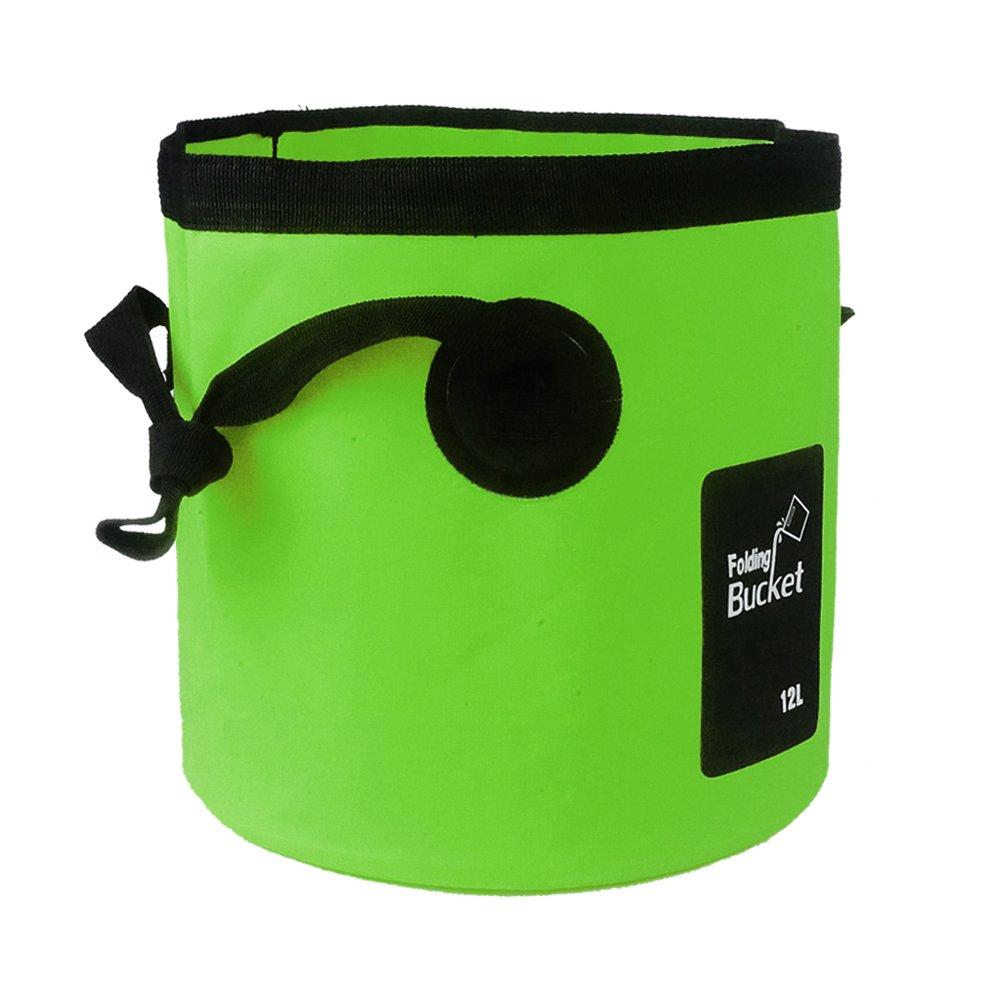 Amber Foldingバケット B075M8SJFK 20 L|グリーン グリーン 20 L