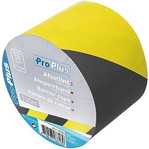 Hervorragend 100 m Absperrband Kennband schwarz-gelb Warnband   i8: Amazon.de RO39