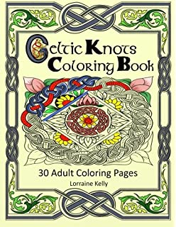 Celtic Knots Coloring Book 30 Adult Pages