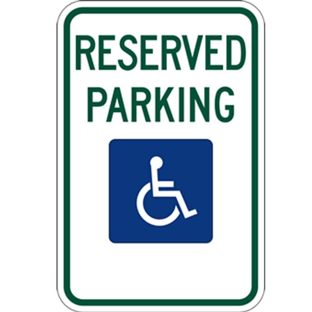 Amazon.com: R7 – 8 Federal Handicap – Señal de prohibido ...