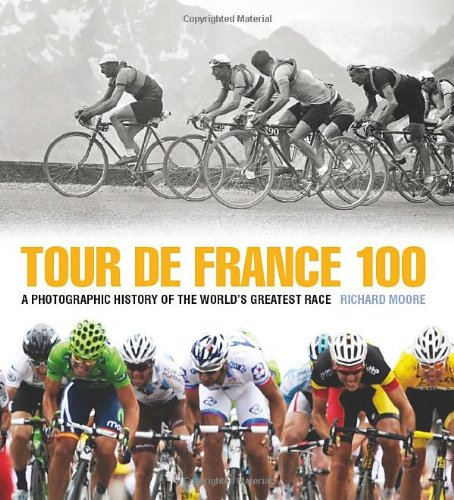 Tour de france 100 a photographic history of the worlds greatest tour de france 100 a photographic history of the worlds greatest race richard moore 9781937715069 amazon books fandeluxe Ebook collections