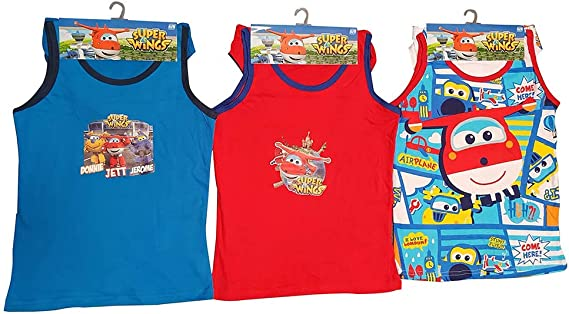 SuperWings Donnie, Jett y Jerome 6 Piezas. Conjunto de Ropa ...