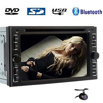 Car Stereo Autoradio DVD multimedia MP3 M¨²sica de radio auto unidad principal de CD