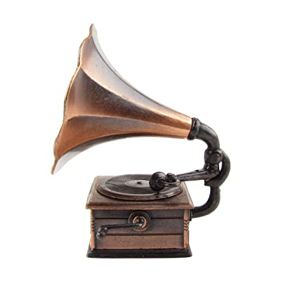Treasure Gurus 1:12 Scale Miniature Phonograph Dollhouse Accessory Gramophone Pencil Sharpener: Toys & Games