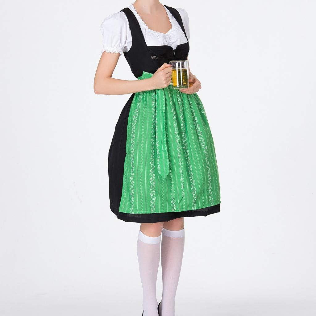 Womens Beer Festival Dress Carnival Bavarian Oktoberfest Cosplay Costumes