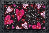 Dancing Hearts Valentine's Day Doormat Primitive Indoor Outdoor 18