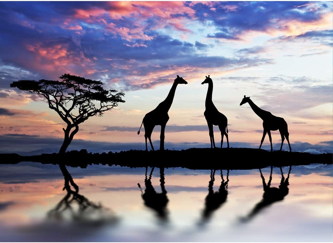 Elegante Disponible en Varias Medidas Resistente y Econ/ómico Cabecero Ligero Cabecero Cama Cart/ón Ec/ólogico Nido de Abeja Girafas 100x60cm