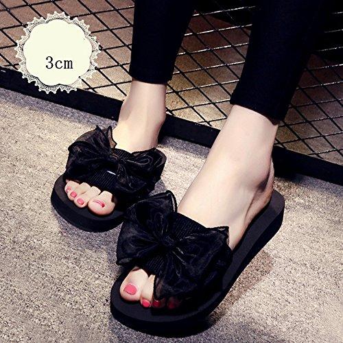 Chanclas MEIDUO sandalias Zapatillas de verano femeninas Zapatillas de playa planas de 18 a 40 años cómodo 1003
