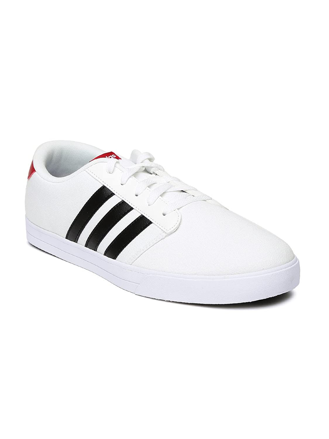 Adidas NEO Men White Vs Skate Casual Shoes (9UK): Buy Online at Low Prices  in India - Amazon.in
