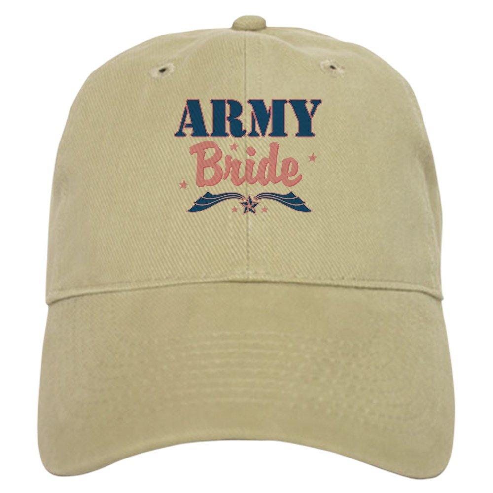 cc272b3999d Amazon.com  CafePress - Star Army Bride - Baseball Cap with Adjustable  Closure