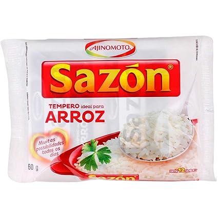 Ajinomoto sazon Arroz Arroz condimento | – 60 Gr 2.11oz (5 ...