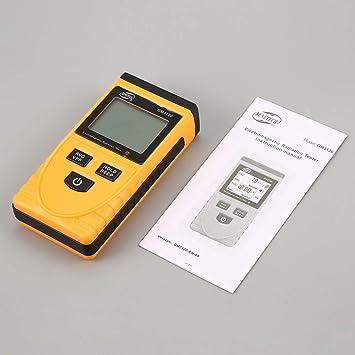 Lorenlli GM3120 LCD Digital Detector de radiación electromagnética medidor dosímetro probador Contador para computadora teléfono TV: Amazon.es: Jardín