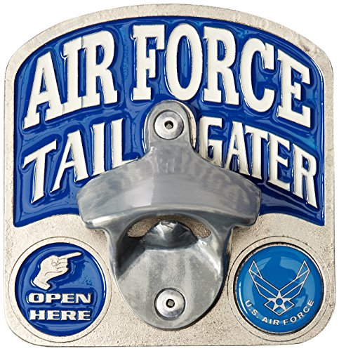 Hitch Bottle Opener (Siskiyou STH18TZ Air Force Botlle Opener Hitch Cover)