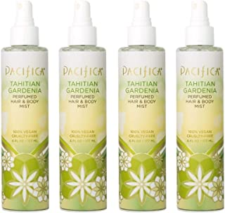 product image for Pacifica Beauty Tahitian gardenia perfumed hair & body mist, 6 Fl Oz (4 Count)