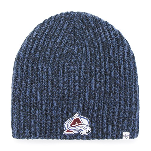 '47 NHL Colorado Avalanche Orca Knit Beanie, One Size, Timber Blue ()