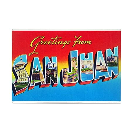 Cafepress san juan puerto rico greetings rectangle magnet 2x3 cafepress san juan puerto rico greetings rectangle magnet 2quotx3quot refrigerator m4hsunfo