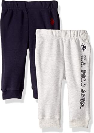 U.S. POLO ASSN. Baby Boy's 2 Pack Jogger Pants