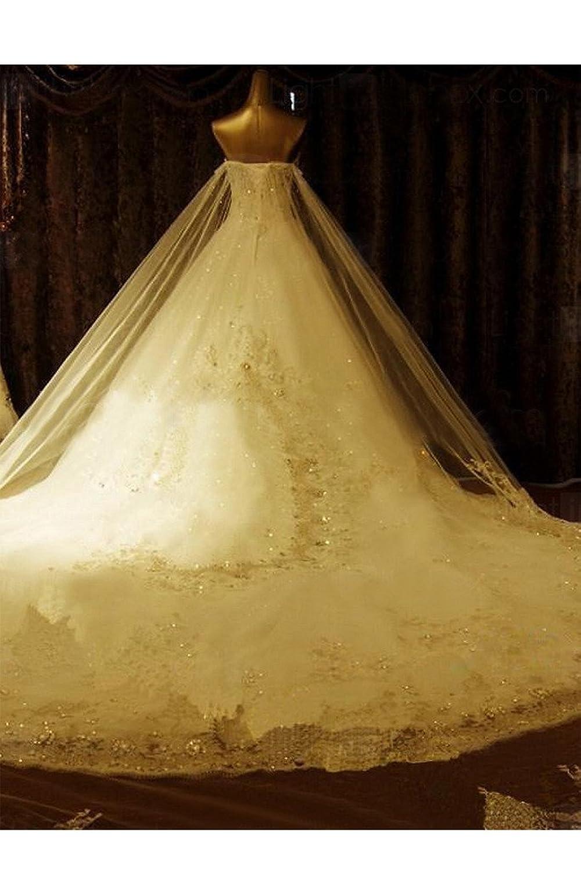 Victory Bridal Luxurioes Steine Prinzess Hochzeitskleider ...