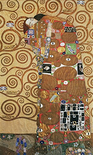 - Klimt Fulfillment NFulfillment Working Drawing For The Stoclet Frieze By Gustav Klimt C1905-09 Poster Print by (24 x 36)